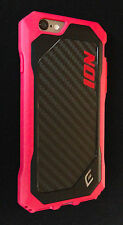 Element Case ION for iPhone 6 / 6s w/ Carbon Fiber NEW Pink MSRP $49.95