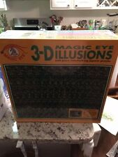 Magic Eye Puzzle 3 pack 550 piece ceaco NEW in wrap