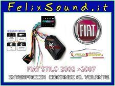 INTERFACCIA COMANDI AL VOLANTE FIAT STILO 2001 2007  CANBUS CONNETTORE ISO/ISO