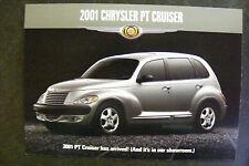 2001 Chrysler PT Cruiser OEM Dealership Postcard NEW