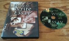 How To Write An Essay (DVD) Teacher's Video Company educational instructional