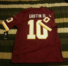 $150 PREMIUM STITCHED Nike NFL Redskins #10 Griffin III Jersey Adult Medium NWT