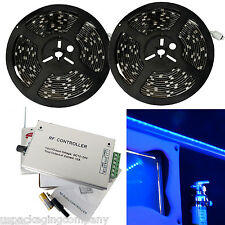 RV LED Camper Awning Boat Trailer Light Set Wireless Remote RGB 32FT Waterproof