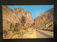 83 EARLY SPRING PICTURE OF DU TOITSKLOOF PASS ON THE WAY TO THE NORTH - POSTCARD
