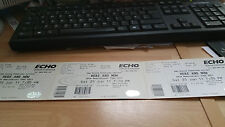 Here and now 10th anniversary show unused concert ticket 2011 B row A