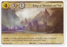 3 x Kings of Mountain and Vale AGoT LCG 1.0 Game of Thrones House of Talons 100