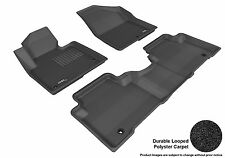 3D Anti-Skid 1 Set Fits Santa Fe 2013-2016 GTCA31466 Black Carpet Auto Parts Per