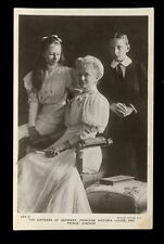 Royalty Empress of GERMANY and children vintage Rotary RP PPC