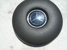 MERCEDES 250 280 300 SL SE HORN PAD BUTTON 113 111 BLACK 280SL 280SE