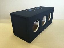 "Custom Ported Subwoofer Enclosure for 3 8"" Sundown SA-8 Subs - Sub Box - 36hz"