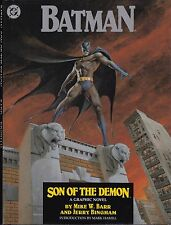 BATMAN: SON OF THE DEMON - DC GRAPHIC NOVEL - 1987 HARDCOVER - SIGNED COPY