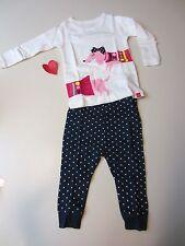 Baby GAP Long Sleeve Top and Pants Fancy Long Dog Pajamas 6-12 month