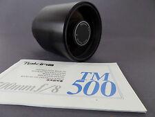 Rmc Tokina 500 mm 1:8, spiegelteleobjektiv con descripción