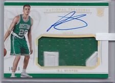 R.J. Hunter 2015-16 Panini National Treasures Rookie Patch Autograph /10