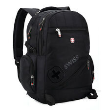 "Swiss bag 15.6"" Laptop Notebook Backpack Rucksack School Business Travel Bag"