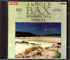 Bryden THOMSON: Arnold BAX Symphony No.4 Tintagel CHANDOS Ulster Orchestra CD