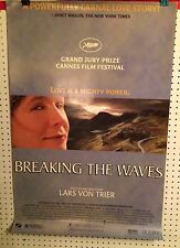 Original Movie Poster Breaking The Waves Single Sided 27x40