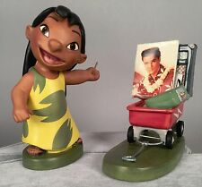 WDCC Lilo and Stitch Figurine - Elvis Presley Was a Model Citizen - Disney COA