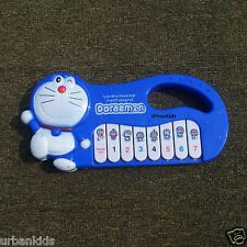 Battery Operated Doraemon Piano, Music Sound Toys Gift for Kids