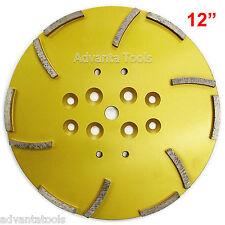 """12"""" Concrete Grinding Head for Floor Grinders - 12 Segments"""