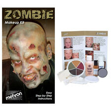 Mehron Zombie Make-up Kit, Special FX Kit. Halloween Kit, SFX