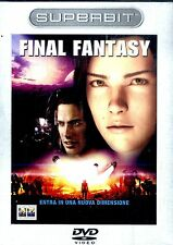 FINAL FANTASY DVD Edizione Superbit NEW SIGILLATO