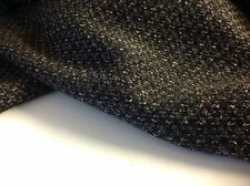 "Multi Colour Wool Boucle Fabric 62""seen Online Top Designer Winter Catwalk Image"