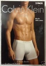 Calvin Klein Body 2-Boxer Briefs  Medium (32-34)  Gray   U1805   (2463)