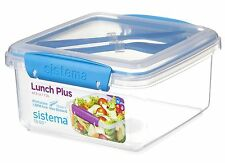 Sistema To Go Lunch Plus with Cutlery 1.2 L - Assorted Colours NEW