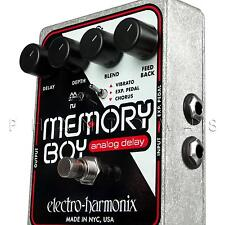 Electro-Harmonix Memory Boy Analog Echo/Delay Pedal with Chorus/Vibrato - NEW!