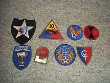 WWII WW2 KOREAN WAR VIETNAM MILITARY ARMY AIR FORCE MARINE USMC PATCH LOT #12
