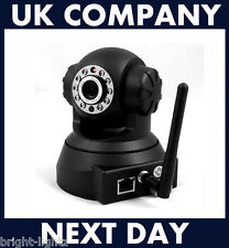 WLAN WIFI SECURITY CAMERA IR PAN/TILT DAY/NIGHT IP CCTV IPHONE/ANDROID UK