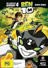 BEN 10: The Complete Season 4 (DVD, 2008, 2-Disc Set) New Region 4