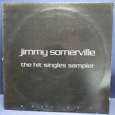 "MAXI 12"" JIMMY SOMERVILLE The hit singles sampler Run from love ... PROMO 2389"