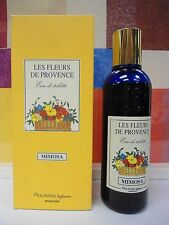 LES FLEURS DE PROVENCE MIMOSA by MOLINARD EDT 3.3oz/100 ml SPRAY 90% FULL IN BOX