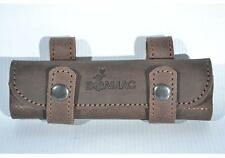 Retro Real Leather Belt Holder Bullet Ammo Pouch Holds 20 Rounds 17 HMR 22 LR