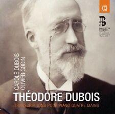 Theodore Dubois - Transcriptions Pour Piano Quatre Mains [New CD] Canada - Impor