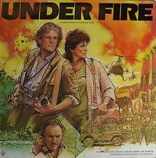 """UNDER FIRE - JERRY GOLDSMITH  12""""  LP  (Q1)"""