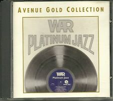 War Platinum Jazz 24 Karat Gold CD Avenue ohne Pappumhüllung (no Slipcase)