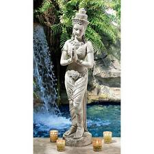 MEDIUM THAI TEPPANOM STATUE DESIGN TOSCANO thai teppanom beautiful being  thai