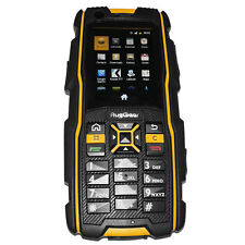RugGear RG920 waterproof phone - Unlocked Mobile Phone (Black and Yellow)
