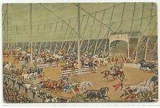 Cirque CIRCUS géant cirque couronne altrömische Arena jeux de 1910