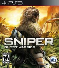Sniper Ghost Warrior PS3 NEW! MILITARY SHOOTER, WAR, MISSION, WARFARE, KILL ZONE