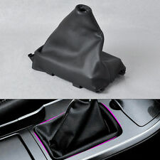 New PU Gear Shift Knobs Cover Boot Gaiter For Mazda 6 M6 2002-2006 2007 AT + MT