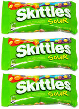 3 x Skittles Sour American Sweets from American Goodies USA Import