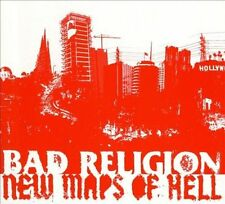 FREE US SH (int'l sh=$0-$3) ~LikeNew CD Bad Religion: New Maps of Hell (Deluxe V