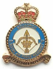 RAF No 27 Squadron Royal Air Force Small Pin Badge *Official Licensed*