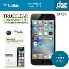 BELKIN TRUECLEAR TRANSPARENT SCREEN PROTECTOR F8W618BT3 FOR IPHONE 6 6S PLUS