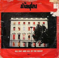 THE STRANGLERS  ALL DAY AND ALL OF THE NIGHT  45rpm single
