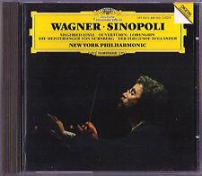 Giuseppe SINOPOLI WAGNER Die Meistersinger Holländer Siegfried Lohengrin 1984 CD